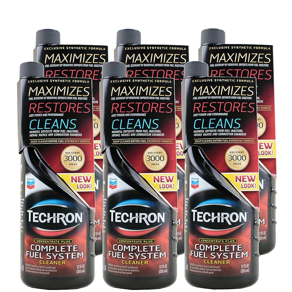 Chevron 雪佛龙 Techron特劲燃油系统清洗剂355ml*6整箱超值装