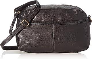 PIECES Pcnedja Leather Cross Body Fc 女士挎包,*(胡椒绿),6.5 x 14.5 x 23.5 厘米