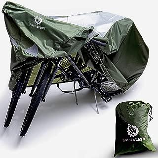 YardStash 自行车保护套 XL:超大尺寸适用于沙滩巡洋舰罩、29er 山地自行车罩、电动自行车罩、多款儿童自行车罩和车罩,适用于带篮子、儿童座椅或架子摩托车