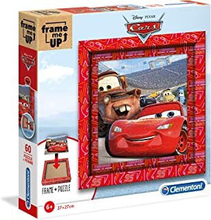 Clementoni 38802 迪士尼 Frame Me Up 60 片拼图-汽车总动员