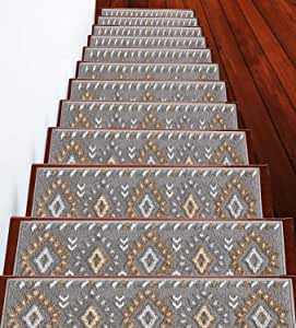 Sussexhome 传统系列 米色 Stair Treads 13-Pack TRD-BG-13Pack