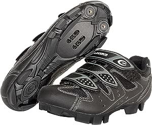 Exustar E-SM324 Cycling Shoe,Black,3.5 M US