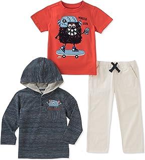 Kids Headquarters 男孩 3 件套裤子套装