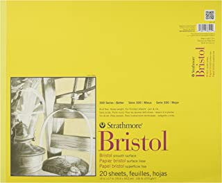 "Strathmore Bristol Smooth Paper Pad 14""X17"""