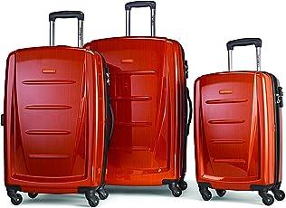 Samsonite 新秀丽 温菲尔德2 3PC Hardside(20寸/24寸/28寸) 行李箱,橙色