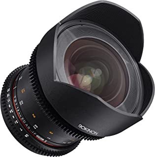 Rokinon Cine DS DS14M-MFT 14mm T3.1 ED AS IF UMC Full Frame Cine Wide Angle Lens for Olympus and Panasonic Micro Four Thirds