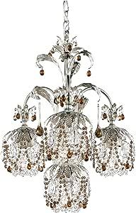 Schonbek 1264-47BD 施华洛世奇灯具 Rondelle 枝形吊灯,古银色 需配变压器