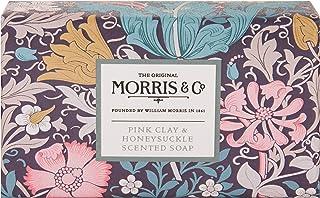 Morris & Co. 粉红色粘土和金银花香皂 240 克