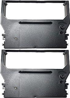 Package of Two Samsung ER-350, ER-550, ERP200, SMP200, SRP100, SRP200 and SRP250 Cash Register Ribbon, Purple, Compatible