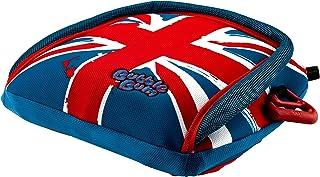 BubbleBum 充气式无背旅行增高座椅,英国米字旗