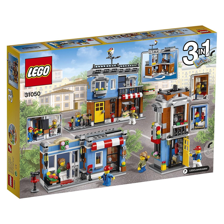 LEGO 乐高 创意百变组 31050 街角三明治店