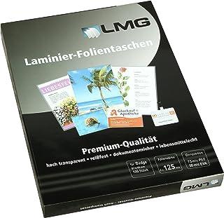 LMG LMGBA-125 层压膜浴室,67 x 99 毫米,2 x 125 微米,100 件