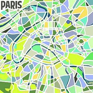Ren-Wil 101285 航空巴黎油画