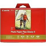canonink 相纸 PLUS glossy II 10.2x 15.2cm 400张 ( 1432°C007)