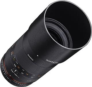 Rokinon 100mm F2.8 ED UMC Full Frame Telephoto Macro Lens for Samsung NX Interchangeable Lens Cameras