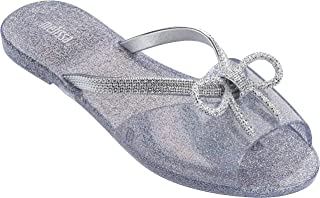 Melissa Ela Chrome 女士凉鞋 Silver Hologram 6 M US Toddler