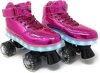 Chicago Skates Pulse 发光四轮车(小童/大童/成人) 5 紫红色 CRS710-05