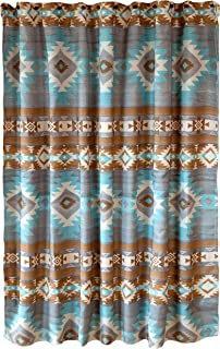 Carstens, Inc. Mesa Daybreak 浴帘,蓝色