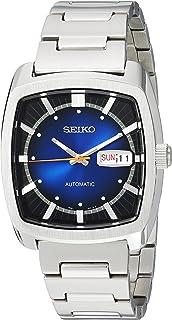 """Seiko 男士""""RECRAFT 系列""""自动不锈钢休闲手表,颜色:银色(型号:SNKP23)"""