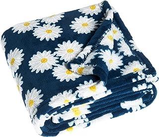 Playshoes 301712 羊毛毯,婴儿毛毯,Margerite,蓝色