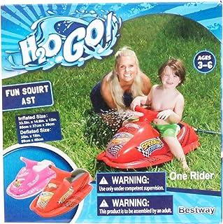 H2O GO Fun Squirt 红色 Speedway Friends 喷水你朋友 年龄 3-6 岁