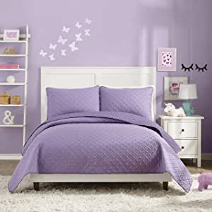 城市游乐场拉维尔被子 Angelietta Purple Full/Queen 041808906804
