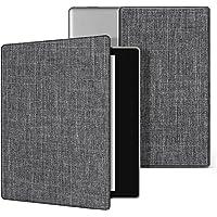 Natusun 纳图森 适配 Kindle Oasis 保护套 适配2017全新Kindle Oasis 7英寸防水电子书阅读器 KO休眠皮套 亚马逊Kindle Oasis 2017新款轻薄翻盖保护壳 KO-12 格调灰色