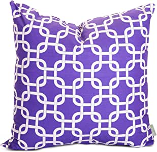 Majestic Home Goods Links Pillow, X-Large, Purple
