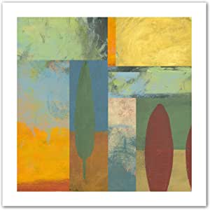 Art Wall Jan Weiss Tuscany Square II Unwrapped Flat Canvas Art, 28 by 28-Inch