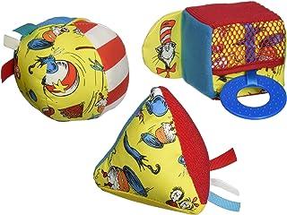 Manhattan Toy 苏斯博士帽子中的猫形状套装婴儿活动玩具