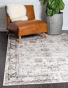 Unique Loom 索菲亚系列传统复古*红色小地毯