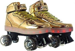 Pulse Skates 滚冰鞋 金色