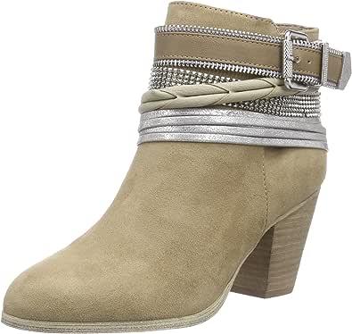 La Strada Sand Suede Look Bootie, Women's Unlined Classics Boots and Bootees Beige - Beige (2206 - micro sand) 7 UK