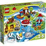 LEGO 乐高 Duplo得宝系列 环球动物大集合 10805 2-5岁 积木玩具 婴幼