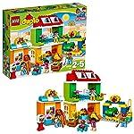 LEGO 乐高  拼插类 玩具  DUPLO 得宝系列 城市广场 10836 2-5岁 婴幼