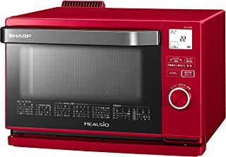 シャープ スチームオーブン ヘルシオ(HEALSIO) 18L 1段調理 レッド AX-CA400-R 需配变压器