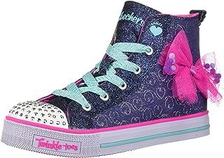 Skechers Twinkle Liteb-Busy Bows 儿童运动鞋