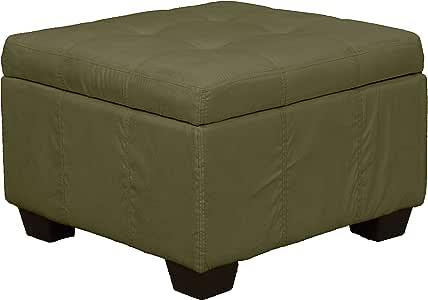 Epic Furnishings 高筒软垫铰链式储物搁脚凳