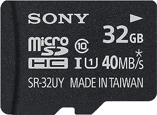 Sony Class 10 Micro SDHC R40 存储卡SR32UYA/TQMN 32GB