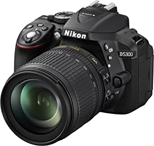 Nikon D5300 24.2MP CMOS 6000 x 4000像素黑色 - 数码相机(24.2 MP,SLR 相机套件,CMOS,6000 x 4000 像素,6000 x 4000,4496 x 3000,2992 x 2000,JPEG XR,RAW)