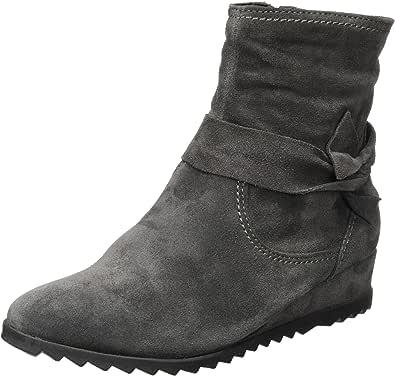 tamaris 女式25006靴, schwarz (黑色001) Grey (Anthracite) 7.5 UK