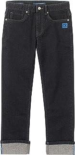 Calvin Klein 男童修身直筒牛仔裤