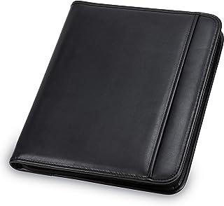 Samsill Professional Padfolio - Resume Portfolio/Business Portfolio with Secure Zippered Closure, 10.1-inch Tablet Sleeve, Expandable Document Organizer & Writing Pad