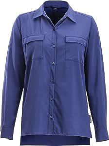 ExOfficio Kizmetbutton Down 衬衫 X-S 蓝色 2001-3197-421-X-Small