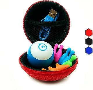 Hexnub Sphero Mini Case 適合 Sphero 迷你機器人玩具和配件 紅色