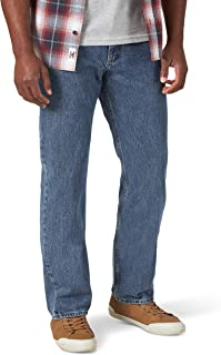 Wrangler 男士 经典直筒牛仔裤
