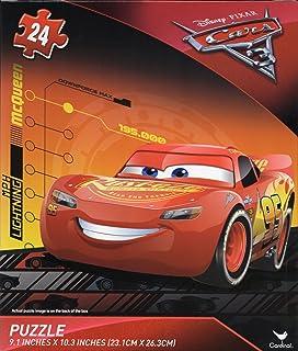Cardinal Games 汽车总动员 24 片拼图,汽车总动员 3 闪电麦昆