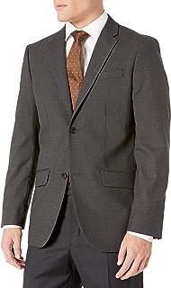 Perry Ellis 男士免烫条纹西装外套