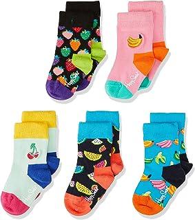 Happy Socks 中性款婴儿水果礼盒袜,5双装