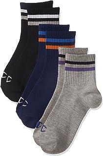 [冠军] 袜子 短款 线条 3双装 CBSCL306 儿童